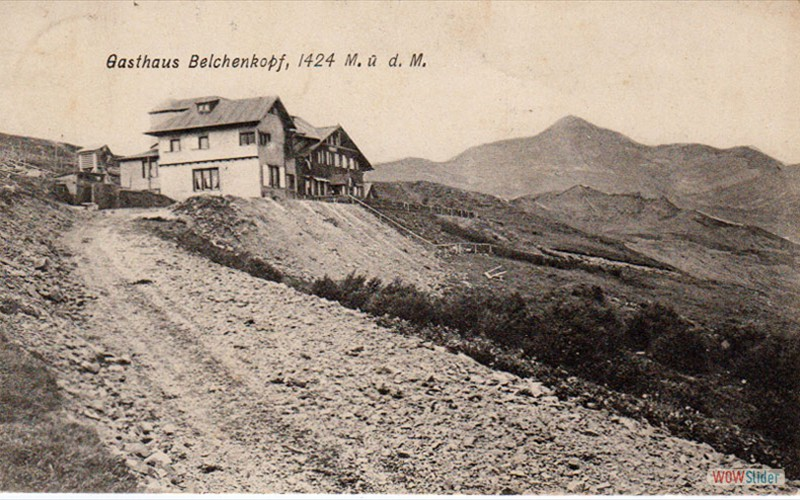 Environs 1910