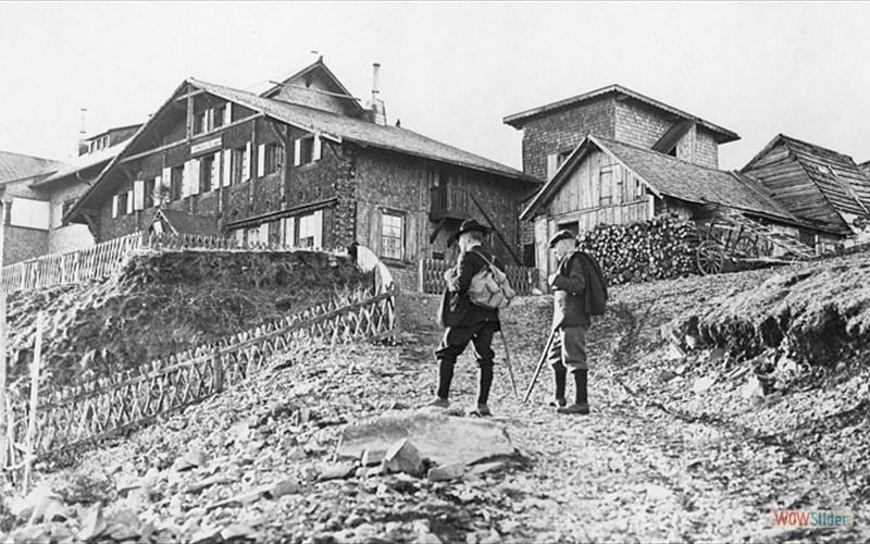 Hôtel apres agrandissemnt de 1905-1906