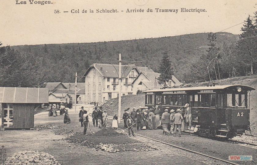 Arrivée en gare de la Schlucht