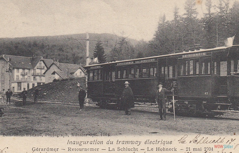 Gare de la Schlucht