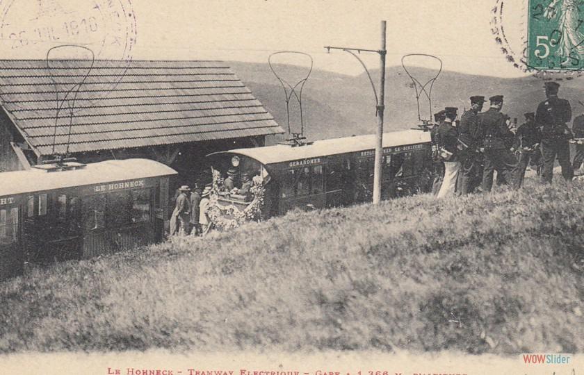 Gare terminale du Hohneck